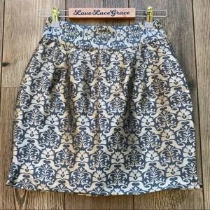 Kimchi Blue By UO Embroidered Jacquard Mini Skirt